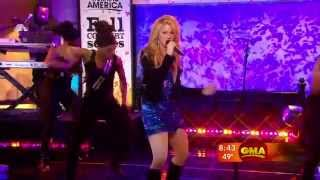 Shakira ~ Give It Up To Me (Good Morning America 19.Nov.2009) [HD]
