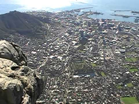 South Africa.Over CapeTown/Table Mountain
