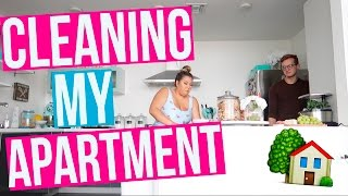CLEANING MY APARTMENT!!