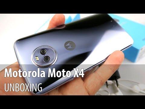 Motorola Moto X4 Unboxing în Limba Română