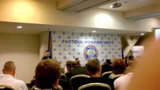 Discurs Andrei Iulian Ciubotaru - Organizația P.R.U. Botosani