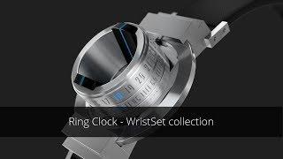 Ring Clock WristSet - transforms your ring