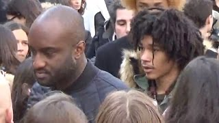 Luka SABBAT & Virgil ABLOH @ Paris 3 march 2016 Fashion Week show Balmain mars