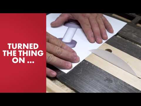 Cum tai un lemn cu o bucata de hartie