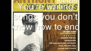 Anthony Raneri- Lead,Follow,Fall Lyrics