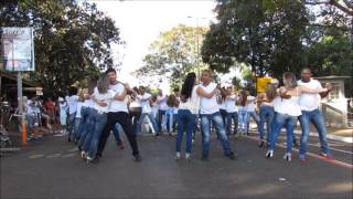 1º Flashmob Brasileiro de Kizomba - UBERLÂNDIA/MG (OFICIAL)