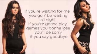 Fifth Harmony - Going Nowhere (Lyrics) (Studio Version)