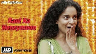 Watch Queen first teaser: featuring impressive Kangana as Rani and the bride-to-be