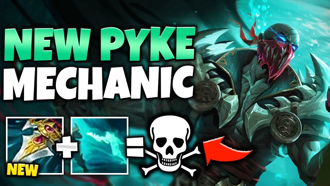 Hanjaro - DASH 2X THE DISTANCE WITH E?! ABUSE THIS NEW PYKE MECHANIC (PROWLERS CLAW) - League of Legends