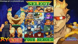 [HD] - Fightcade - Marvel Vs Capcom - Wreckage(AUS) Vs Ackesh(UK) - Final Part