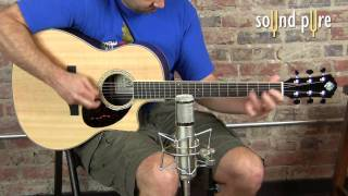 Morgan CVR Acoustic Guitar Demo at Sound Pure (HD)