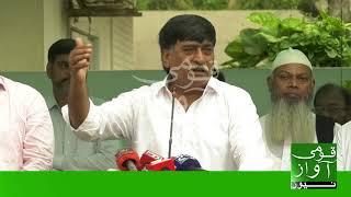 Muhajir Qaumi Movement-Haqiqi (MQM-H) chief Afaq Ahmed has retracted his resignation width=