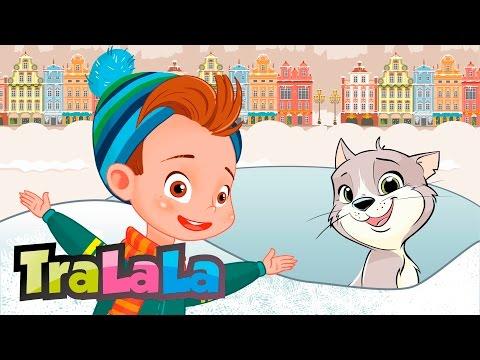 Merg acuș' la săniuș - Cântece de iarnă pentru copii