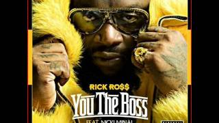 Rick Ross ft Nicki Minaj You The Boss ( Lyrics on Screen )