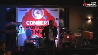 Rádio Comercial | Entrevista com Boss AC no Concerto Mais Pequeno do Mundo