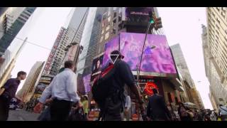 I AM Hardwell Times Square takeover