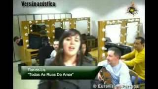 Flor-de-Lis - Todas as ruas do amor (Acoustic version)