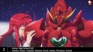 Top 10 Anime Demons/Action - You Must See This