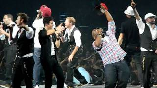 NKOTBSB Boys II Men End of the Road