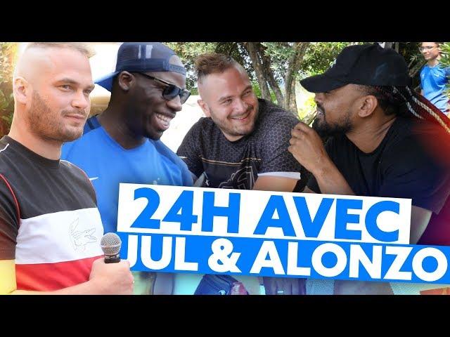 24H AVEC JUL ET ALONZO : SUR LE TOURNAGE DE LEUR DERNIER CLIP