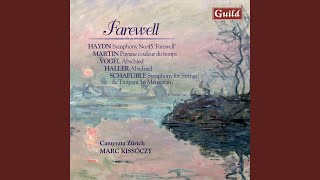 Symphony No. 45 in F-Sharp Minor 'Farewell: III. Menuet - Allegretto