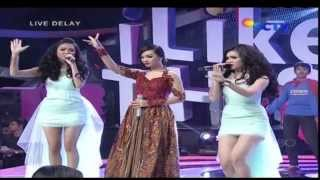 ZASKIA GOTIX Feat DUO ANGGREK & DJ QUENY Live At I Like This (20-01-2014) Courtesy SCTV