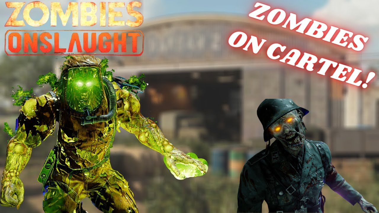 nerdcomedygaming - ZOMBIES ON CARTEL?! | Call of Duty: Black Ops Cold War PS5 Onslaught Cartel Gameplay