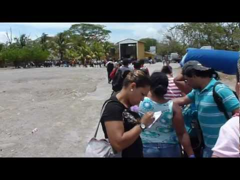 Semana Santa at the Costa Rica-Nicaragua Border Crossing