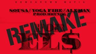 POREL$ - SOUSA, YOGA FIRE, ALEMAN (FLSTUDIO REMAKE) INSTRUMENTAL [PROD. BY KINGBD]
