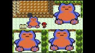 four pokemon that can move big fatty snorlax