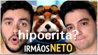 Felipe Neto e Luccas Neto, a casa caiu para os irmãos neto?