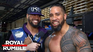 The Usos boast about getting gritty in Philly: Exclusive, Jan. 28, 2018