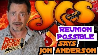 Jon Anderson Says A Reunion With Yes Is Very Possible
