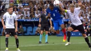Slow Motion Germany Handball / Handspiel Bastian Schweinsteiger / Euro 2016
