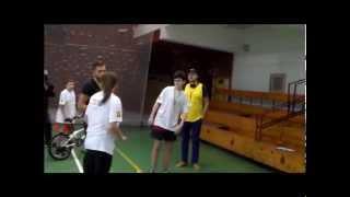 Finał Turnieju wiedzy o RPO WM 2007-2013 Uczniowie Publicznego Gimnazjum w Karniewie