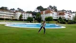 """VUELVE"" ZUMBA CHOREO  (Juan Magan ft Paulina Rubio & DCS) BY ANDREA TREPAT"