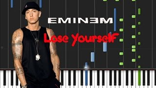 Eminem - Lose Yourself [Synthesia Piano Tutorial]
