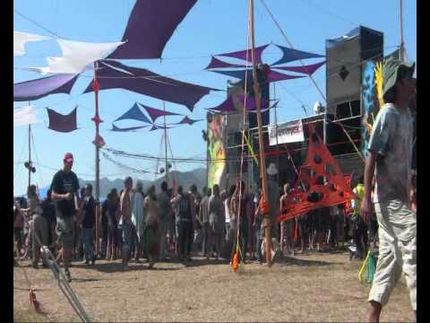 Disasterpeace psytrance festival outside Cape Town, South Africa