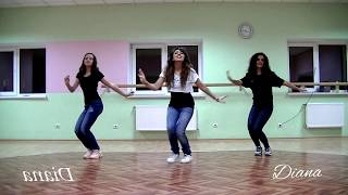 Dance TuTorial/Part 1/Танцы Движение 1 Pour Oublier Kendji Girac/Diana Vanyan