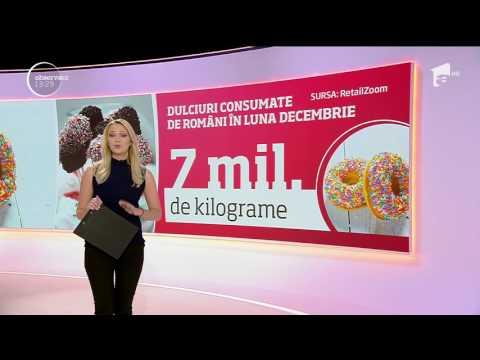 Dulciuri consumate de români în luna decembrie