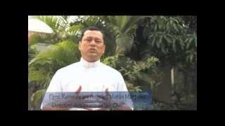 Copia de Invitación, I Congreso Diocesano Misionero. Santa Ana. El Salvador, C.A..