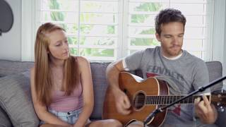 Alli and Sean - The Strokes - Someday - Acoustic Cover