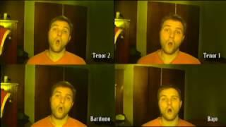 MUERO DE FRÍO - RÁFAGA | Arreglo para cuarteto masculino