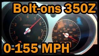 ★ Nissan 350Z Top Speed 0-155 mph (250 Kph)
