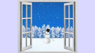 Free Snowman Animation Background Loop