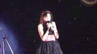 X factor she has it watch out Somewhere Over The Rainbow. Eva Cassidy  sang by Shereen age 12