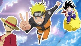 TOP 5 Anime die jeder UNBEDINGT gesehen haben muss!