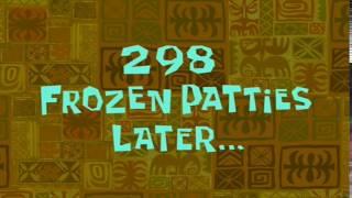 298 Frozen Patties Later... | SpongeBob Time Card #44