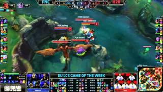 FNC vs H2K - Reignover Dragon steal