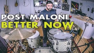 Post Malone - Better Now (Drum Cover)